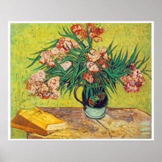 Oleanders Print by Vincent van Gogh