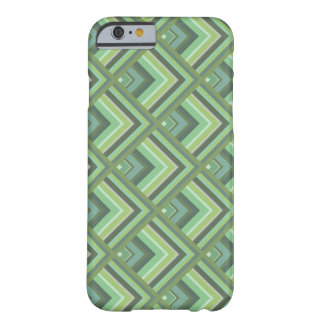 Olive green stripes scale pattern barely there iPhone 6 case