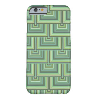 Olive green stripes square scales pattern barely there iPhone 6 case