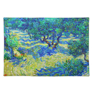 Olive Grove by Vincent Van Gogh Placemat