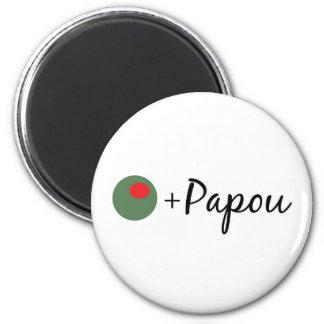 Olive Papou Magnet