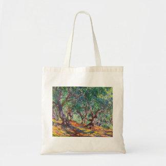 Olive Trees in Bordighera, 1884 Claude Monet Tote Bag