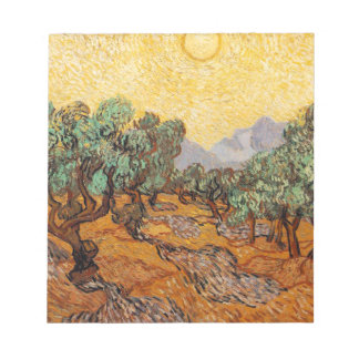 Olive-trees of Vincent Van Gogh (Olives trees) Notepad