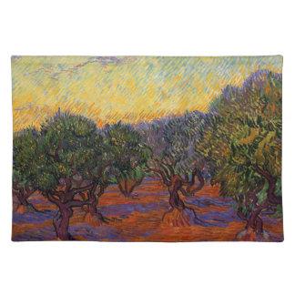 Olive Trees - Vincent Van Gogh Placemat