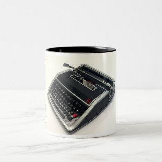Olivetti Lettera 33 typewriter Two-Tone Mug