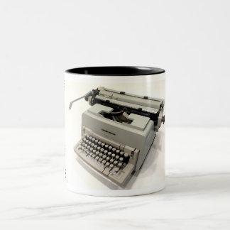 Olivetti Linea 98 typewriter Two-Tone Coffee Mug
