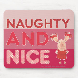 Olivia - Naughty and Nice Mouse Pad