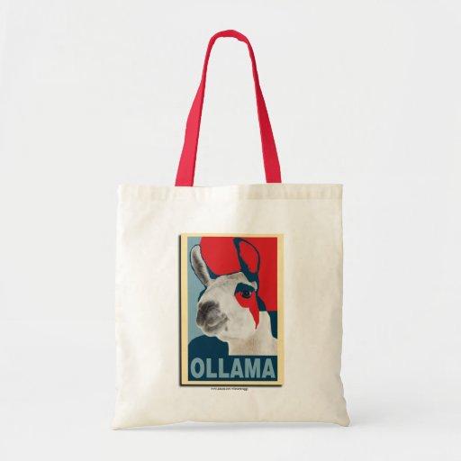 Ollama Obama - Totebag Canvas Bags