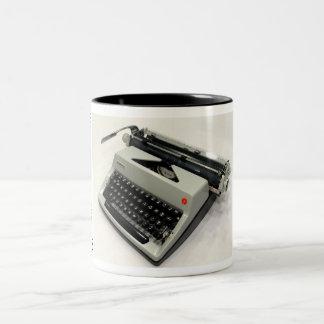Olympia De Luxe typewriter Two-Tone Mug