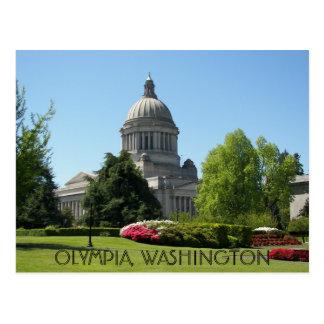 Olympia, Washington State Travel Photo Postcard