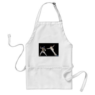 Olympic Fencing Lunge and Parry Standard Apron