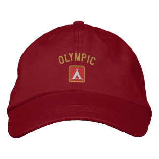 Olympic National Park Embroidered Cap