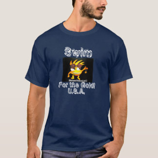 Olympic -Swim For the Gold! U.S.A. T-Shirt