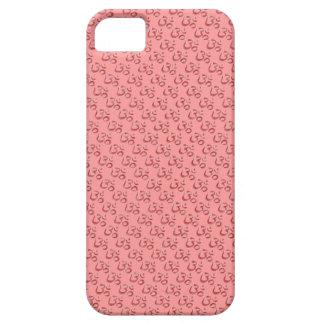 Om aum pink hindu customisable iPhone 5 case