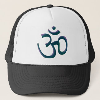 Om Color Trucker Hat