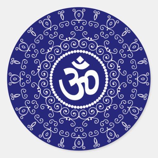 Om Design Sticker