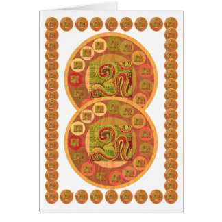 OM Mantra Multicolor Coins - OM108 by Navin Card
