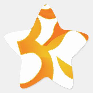 Om Star Sticker