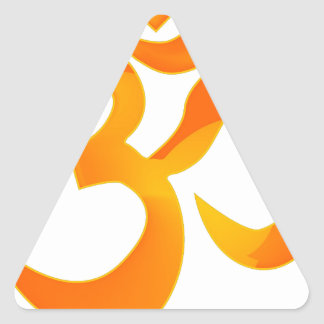 Om Triangle Sticker