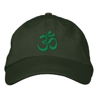 OM Yoga Chakra Green or customize it Embroidery Embroidered Hat