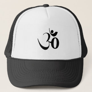 Om Yoga Meditation Trucker Hat