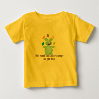 Oma is My Easter Bunny Baby T-Shirt