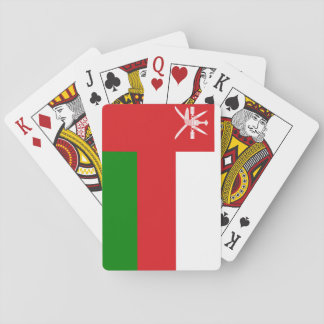 Oman National World Flag Playing Cards