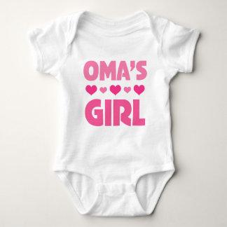 Omas Girl Baby Bodysuit