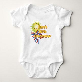 Oma's Little Firecracker Baby Bodysuit