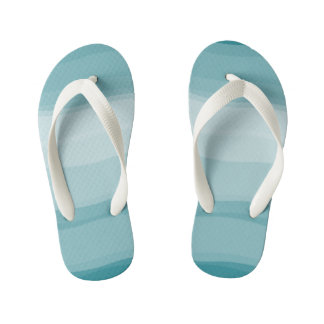 Ombre Gradient Pattern Cool Flip Flops Thongs
