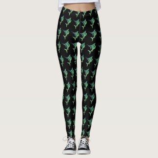 Ombre Sailfish Leggings