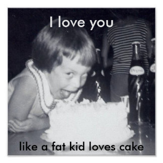 OMG cake Poster