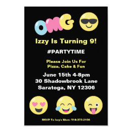 birthday invitations with response cards