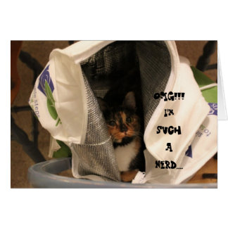 """OMG!! I'm such a nerd...  """"kitty in a sack"""" notes"""