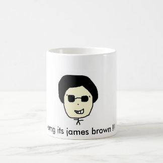 omg its james brown !!! coffee mug