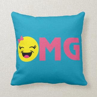 OMG LOL Cute 2 Sided Pillow