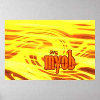 OMG! myob Poster