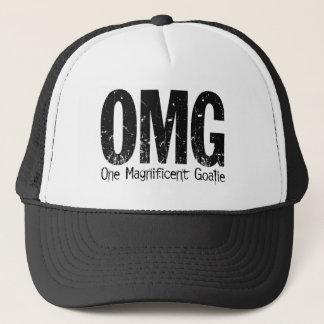 OMG: One Magnificent Goalie (Hockey) Trucker Hat