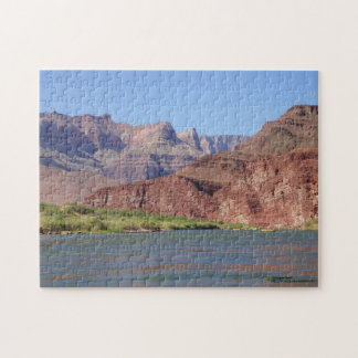 On Colorado River at Grand Canyon Photograph Jigsaw Puzzle