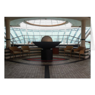 On Cruise Ship Photo and Card by Lorette Starr