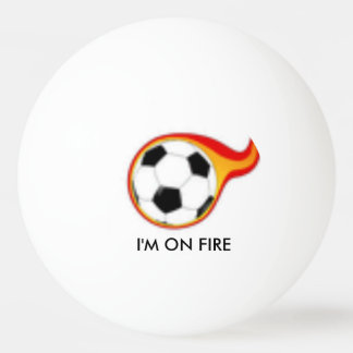 ON FIRE PING PONG BALL
