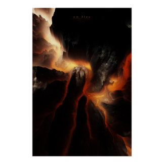 on fire poster