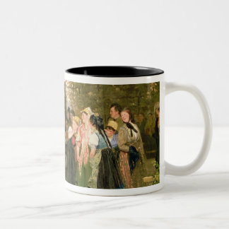 On Leave, 1883 Two-Tone Coffee Mug