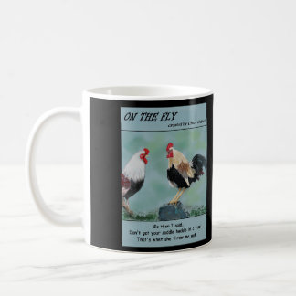 On The Fly - Rooster mug