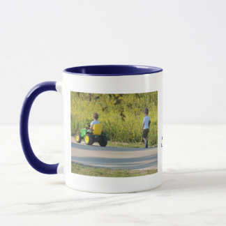 On the Hunt by Leslie Peppers Mug