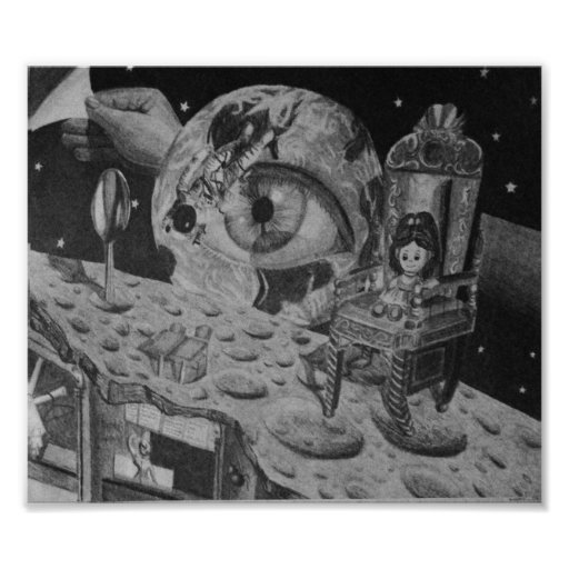 On the Moon Poster