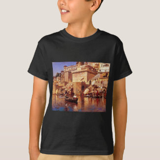On The River Benares by Edwin Lord Weeks T-Shirt