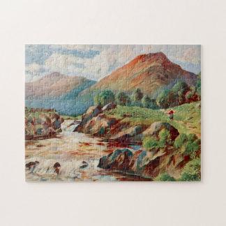On the River Conon, Ross-shire Scotland Jigsaw Puzzle