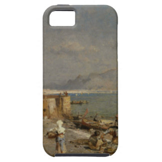 On The Waterfront at Palermo by Franz Richard iPhone 5 Cases