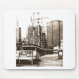 ON the Waterfront in NY_z03 Mouse Pad